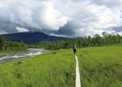 Unterwegs im Dividalen National Park