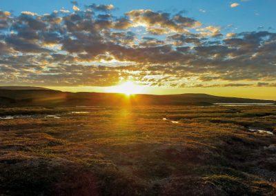 Nábár-Plateau in der Finnmark